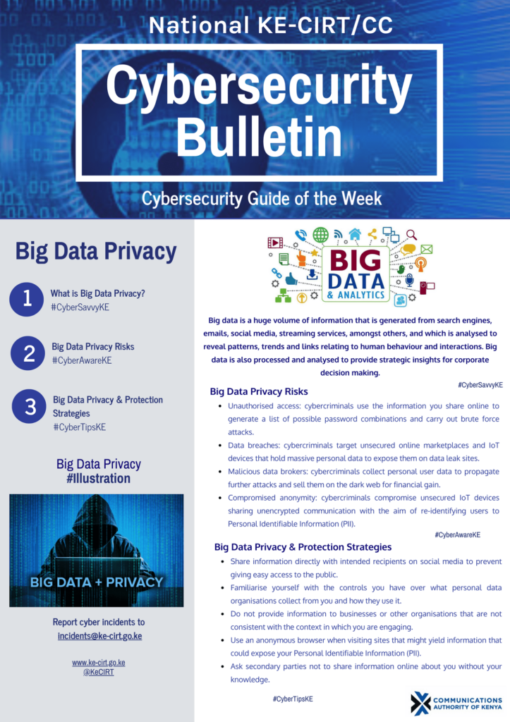 Big Data Privacy