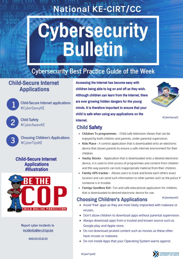 Child Secure Internet Applications