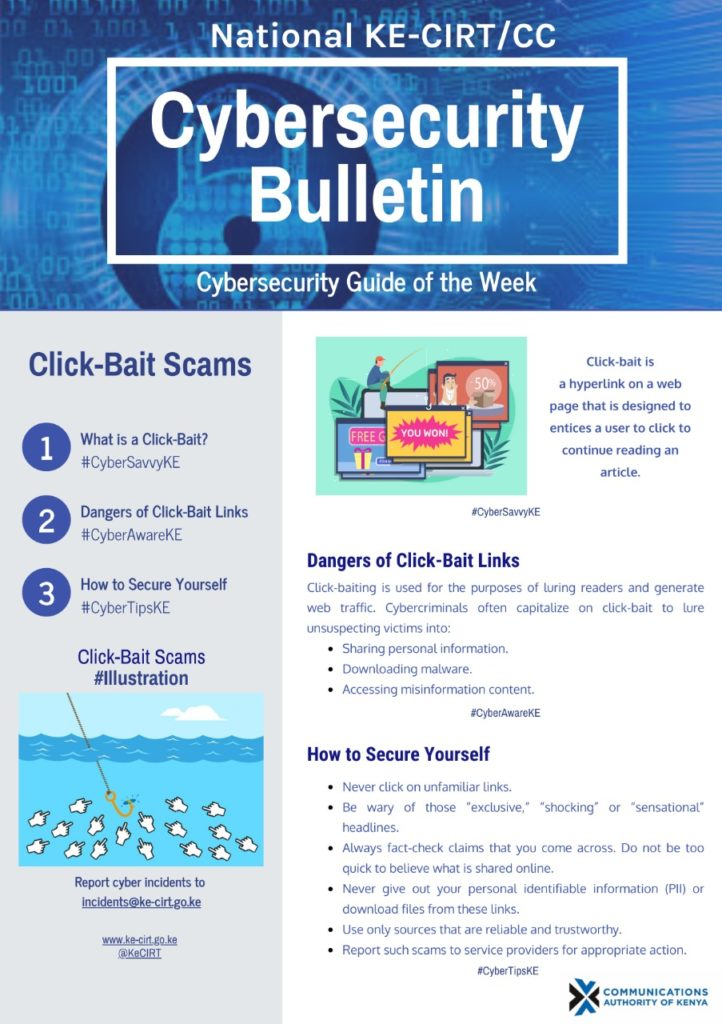 Click-Bait Scams
