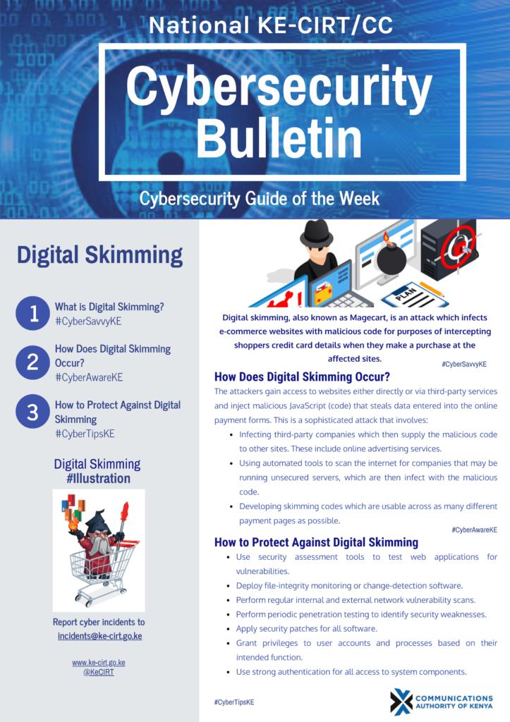 Digital Skimming