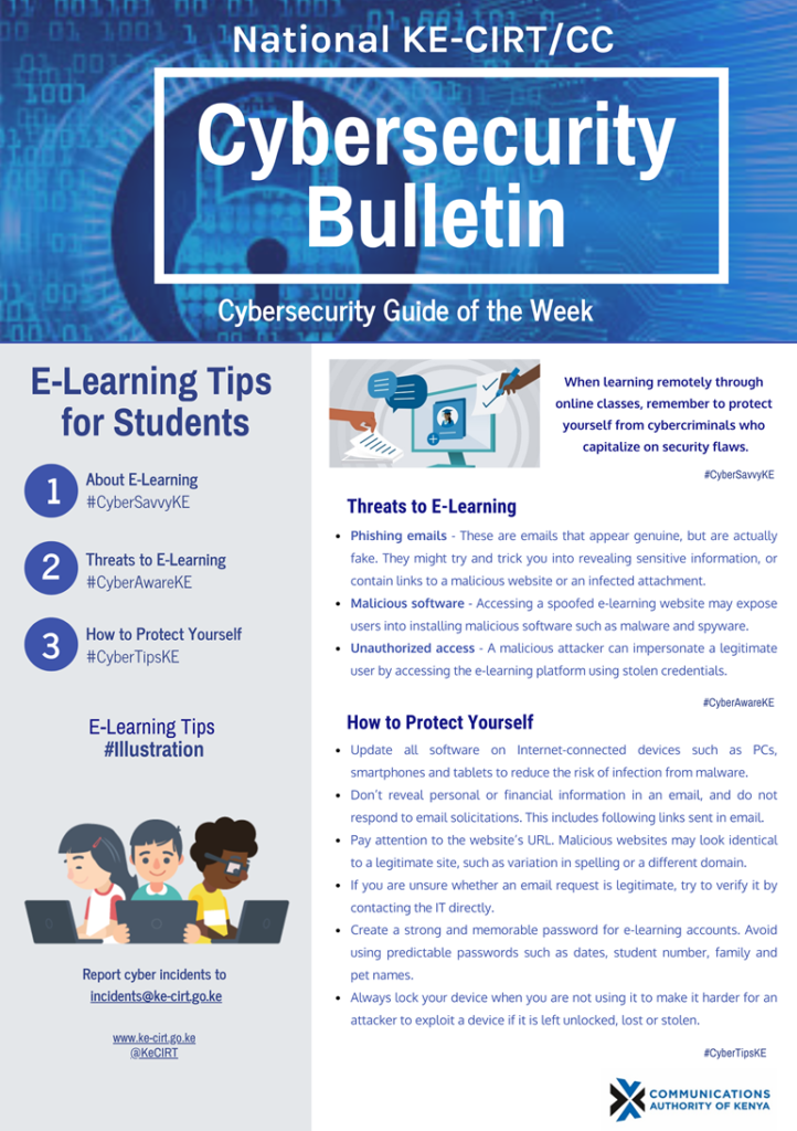 E-Learning Tips for Students