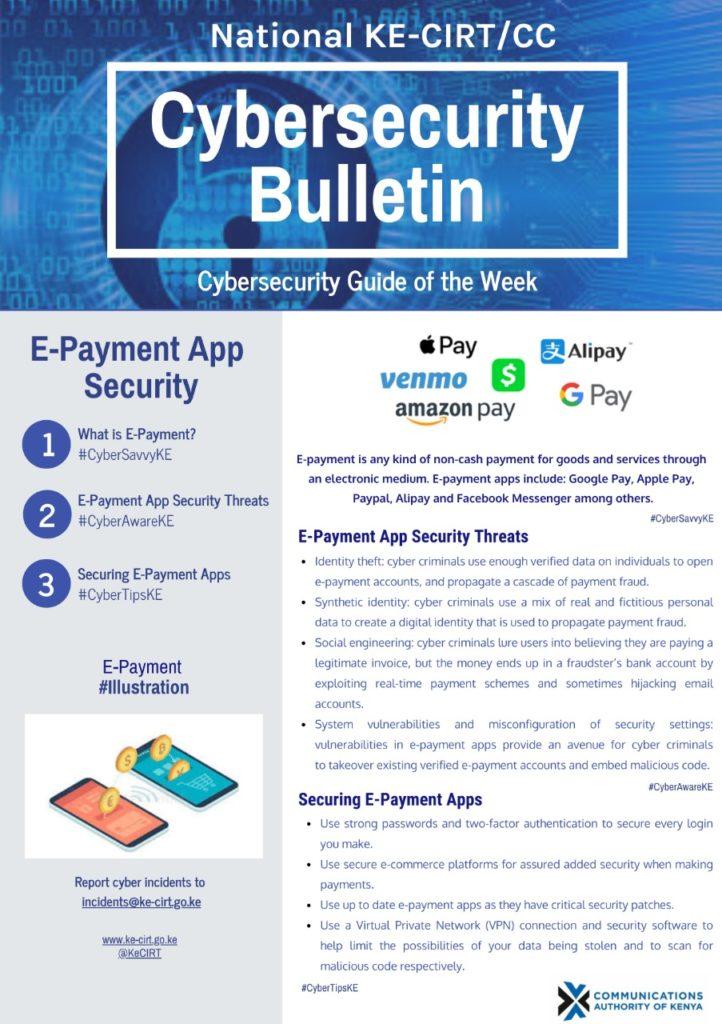 E-Payment App Security