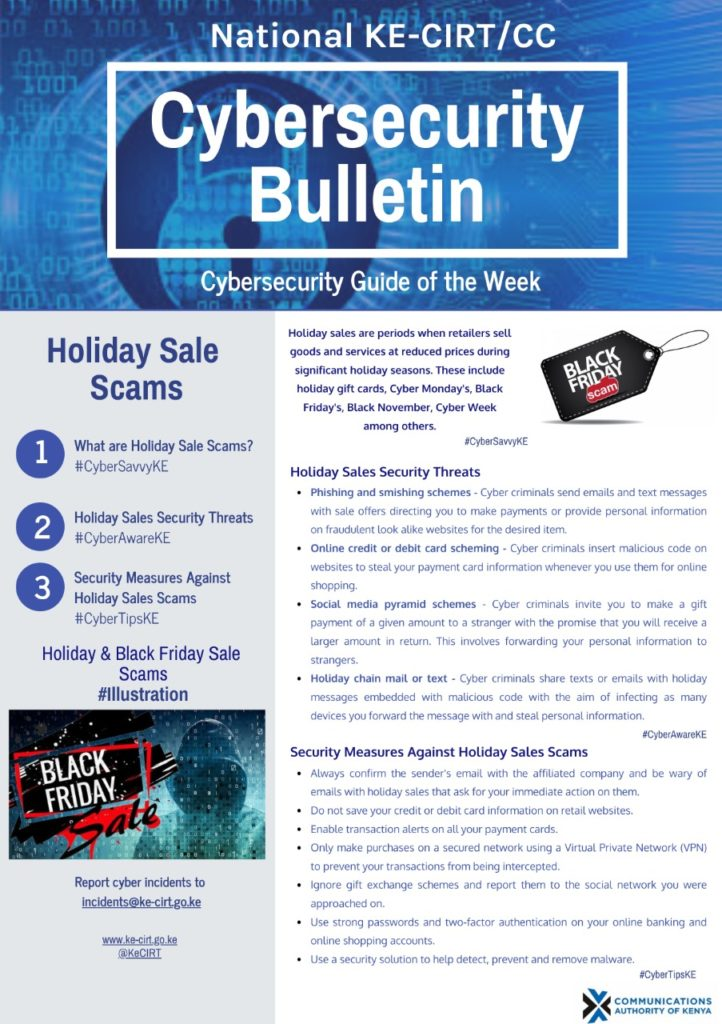 Holiday Sale Scams