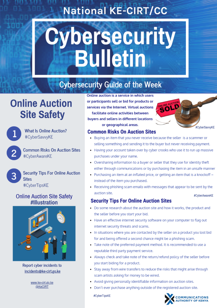 Online Auction Site Safety