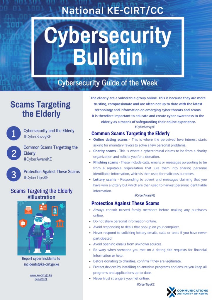 Scams Targeting the Elderly