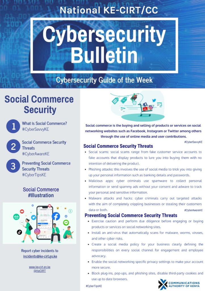 Social Commerce Security