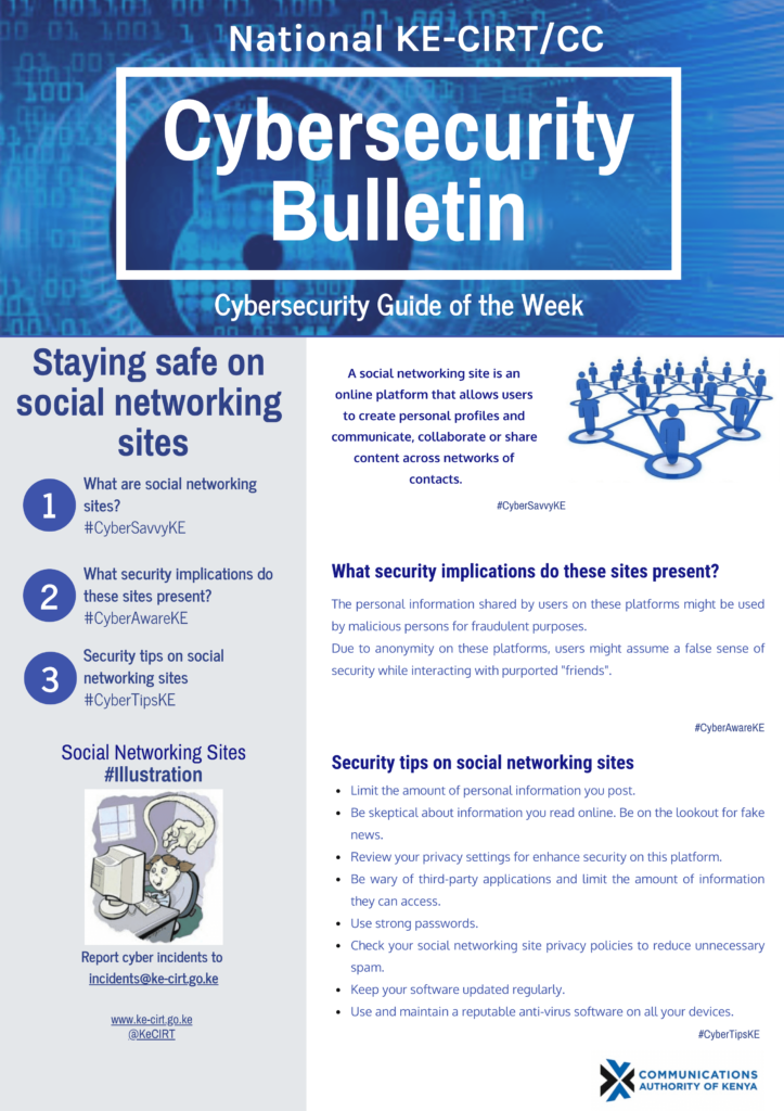 Staying Safe on Social Networking Sites