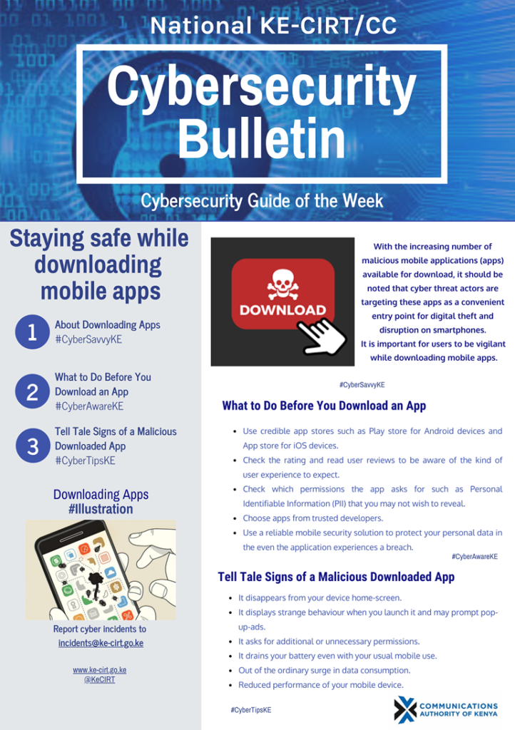 Staying Safe while Downloading Mobile Apps