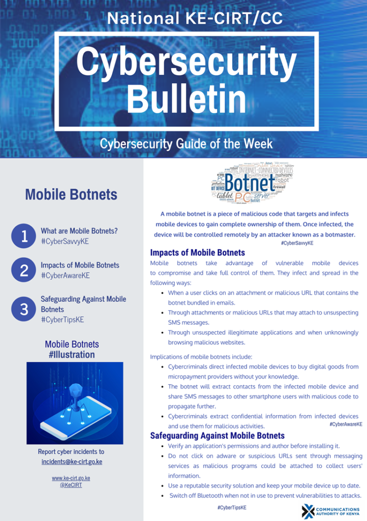 Mobile Botnets