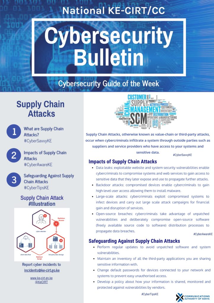 Supply Chain Attacks